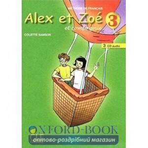 Alex et Zoe Nouvelle edition 3 CD audio ISBN 9782090322569