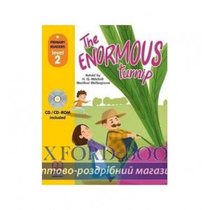 Level 2 The Enormous Turnip with CD-ROM ISBN 9786180525175