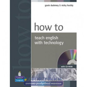 How to Teach English with Technology Book with CD New ISBN 9781405853088