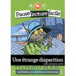 Niveau 2 Une ?trange disparition Livre+CD ISBN 9782090313338
