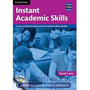 Cambridge Copy Collection: Instant Academic Skills with Audio CD ISBN 9780521121620