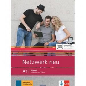 Підручник Netzwerk neu A1 Deutsch als Fremdsprache Kursbuch mit Audios und Videos ISBN 9783126071567