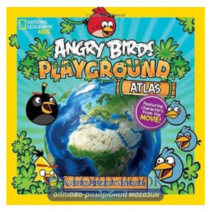 Книга Angry Birds Playground Atlas: A Global Geography Adventure ISBN 9781426314001