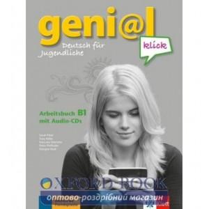 Робочий зошит geni@l klick B1 Arbeitsbuch mit 2 Audio-CDs ISBN 9783126050708