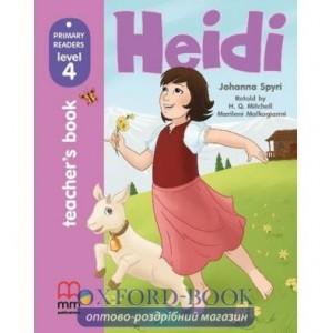 Книга для вчителя Level 4 Heidi teachers book Mitchell, H ISBN 9786180525083