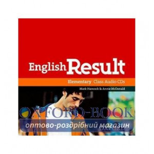 English Result Elementary Class CDs ISBN 9780194305105