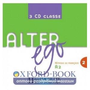 Alter Ego 2 CD audio classe (x3) ISBN 3095561956863