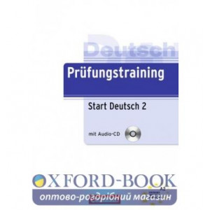 Prufungstraining DaF: Start Deutsch2 A2+CD Maenner, D ISBN 9783060207503