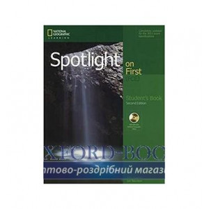 Підручник Spotlight on First 2nd Edition Students Book with DVD-ROM ISBN 9781285849485