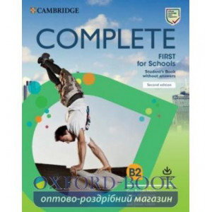 Підручник Complete First for Schools 2 Ed Students Book without Answers with Online Practice Brook-Hart,G ISBN 9781108647335