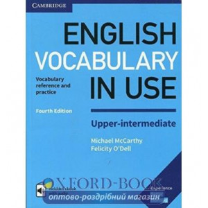 Словник Vocabulary in Use 4th Edition Upper-Intermediate with Answers and Enhanced eBook McCarthy, M ISBN 9781316631744