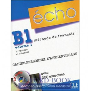 Echo B1.1 Cahier dexercices + CD audio + corriges ISBN 9782090385724