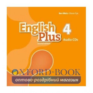 English Plus 2nd Edition 4 Class CDs ISBN 9780194201872