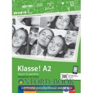 Робочий зошит Klasse A2 Ubungsbuch ISBN 9783126071321