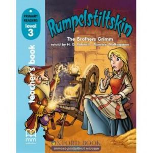 Книга для вчителя Level 3 Rumpelstiltskin teachers book Brothers Grimm ISBN 9789603794707