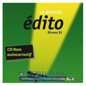 Edito Le Nouvel B1 CD-ROM autocorrectif ISBN 9782278074488