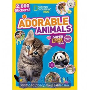 Книга Adorable Animals ISBN 9781426321085