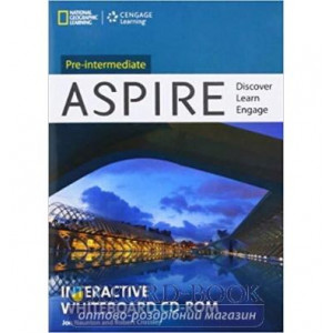 Aspire Pre-Intermediate Interactive Whiteboard CD-ROM Crossley, R ISBN 9781133319054