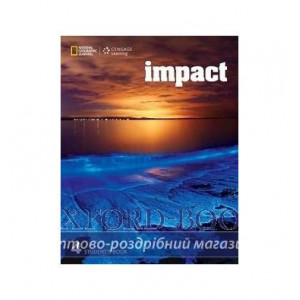 Підручник Impact 4 Students Book Fast, T ISBN 9781337281096