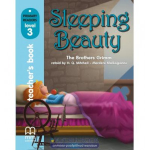 Книга для вчителя Level 3 Sleeping Beauty teachers book Brothers Grimm ISBN 9789604436552