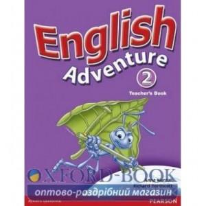 Книга English Adventure 2 Teachers book ISBN 9780582791800