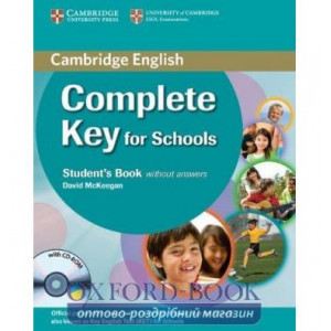 Підручник Complete Key for Schools Student Pack (SB without answers with CD-ROM, Робочий зошит without answers with CD)