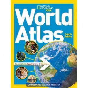Книга World Atlas 4th Edition ISBN 9781426314032