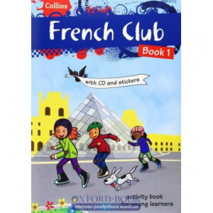 French Club Book 1 with CD & Stickers McNab, R ISBN 9780007504473