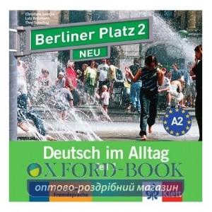 Berliner Platz 2 NEU CD zum Lehrbuch Teil 1 ISBN 9783126060714