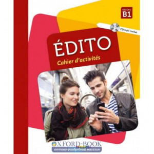 Книга Edito B1 Cahier dexercices + CD mp3 Edition 2018 ISBN 9782278090037