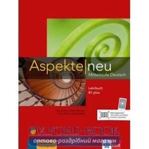 Aspekte 1 Neu B1+ Lehrbuch ohne DVD ISBN 9783126050166
