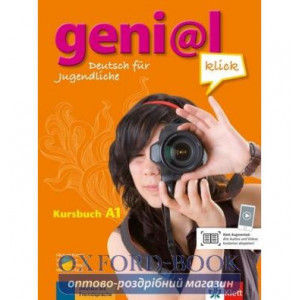 Підручник geni@l klick A1 Kursbuch + 2 CDs ISBN 9783126062800