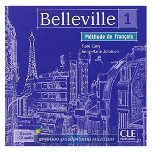 Belleville 1 CD audio pour la classe Cuny, F ISBN 9782090329872