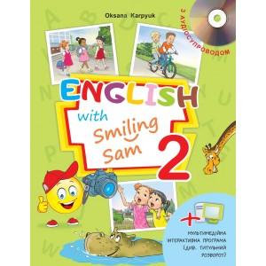 Англійська мова Карпюк English with Smiling Sam 2 Підручник НУШ Карпюк О.Д.