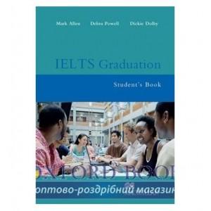 Підручник IELTS Graduation Students Book ISBN 9781405080750