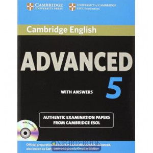 Cambridge English Advanced 5 Self-study Pack (SB with answers and Audio CDs (2)) ISBN 9781107603271