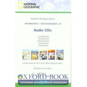 Level 1600 B1 Audio CDs ISBN 9781424012886