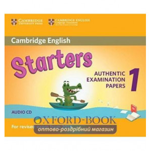 Cambridge English Starters 1 for Revised Exam from 2018 Audio CD ISBN 9781316635971