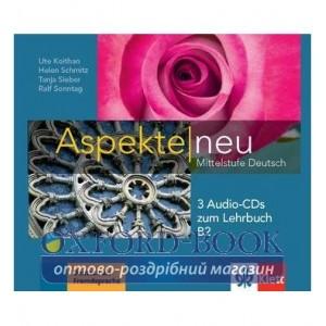 Aspekte 2 (B2) 3 CDs zum Lehrbuch ISBN 9783126050296