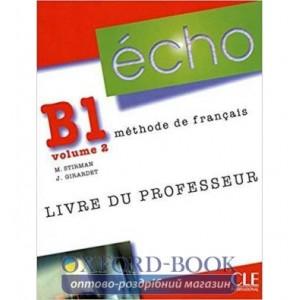 Книга Echo B1.2 Livre Professeur ISBN 9782090385779