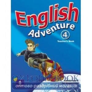 Книга English Adventure 4 Teachers book ISBN 9780582793477