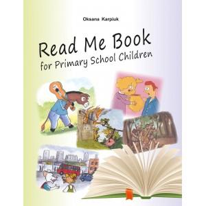 Англійська мова Карпюк Книга для читання 3-4 клас Read Me Book Карпюк О.Д.