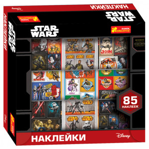 5941 Наліпки у коробці Дісней Зоряні Війни (мульт.) 13163003Р