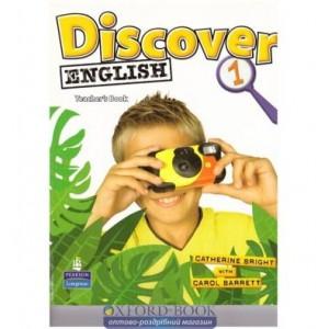 Книга для вчителя discover english 1 teachers book