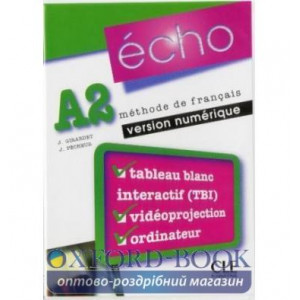 Книга для вчителя Echo A2 teachers book ISBN 9782090324945