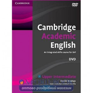 Cambridge Academic English B2 Upper Intermediate DVD Hewings, M ISBN 9780521165297