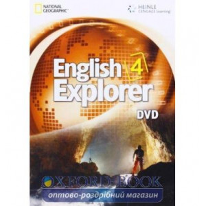 English Explorer 4 DVD Stephenson, H ISBN 9781111772024