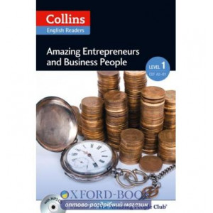 Amazing Entrepreneurs & Business People with Mp3 CD Level 1 MacKenzie, F ISBN 9780007545018