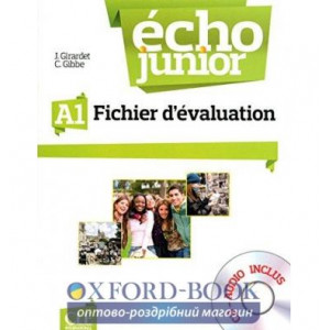 Echo Junior A1 Fichier d?valuation + CD audio Gibbe, C ISBN 9782090387278