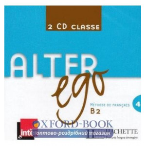 Alter Ego 4 CD Classe ISBN 3095561958065